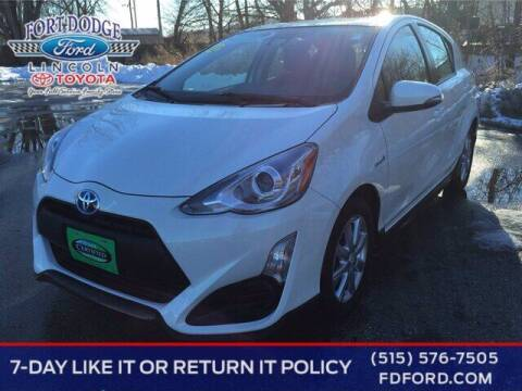 2017 Toyota Prius c for sale at Fort Dodge Ford Lincoln Toyota in Fort Dodge IA