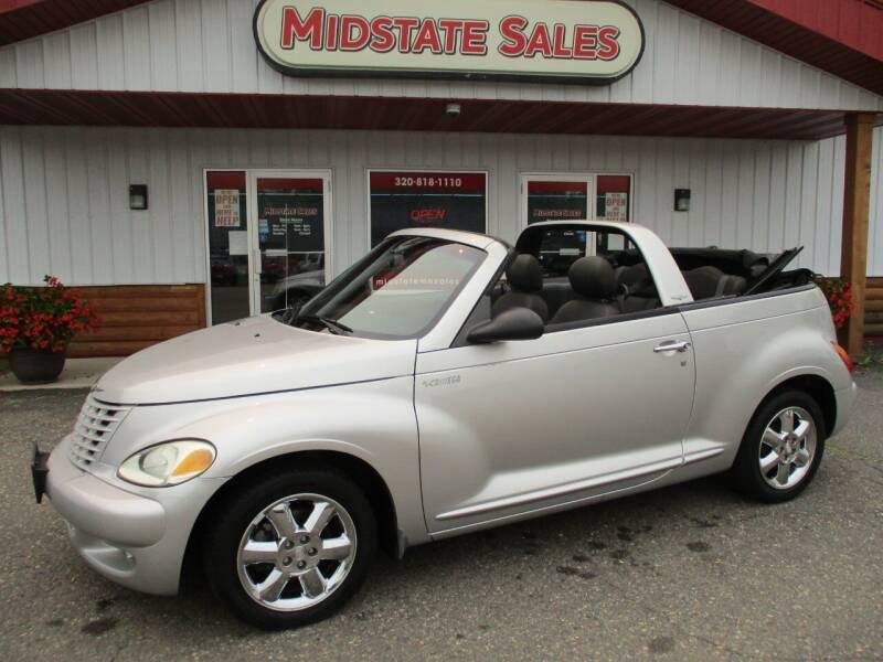 2005 Chrysler PT Cruiser for sale at Midstate Sales in Foley MN