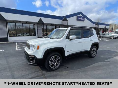 2017 Jeep Renegade for sale at Impex Auto Sales in Greensboro NC