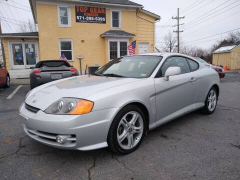 2004 Hyundai Tiburon for sale at Top Gear Motors in Winchester VA