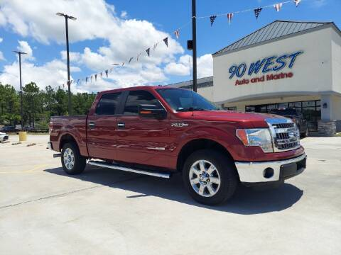 2014 Ford F-150 for sale at 90 West Auto & Marine Inc in Mobile AL