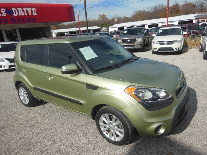 2013 Kia Soul for sale at Texas Drive LLC in Garland TX