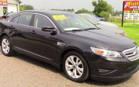 2011 Ford Taurus for sale at Faithful Cars Auto Sales in North Branch MI