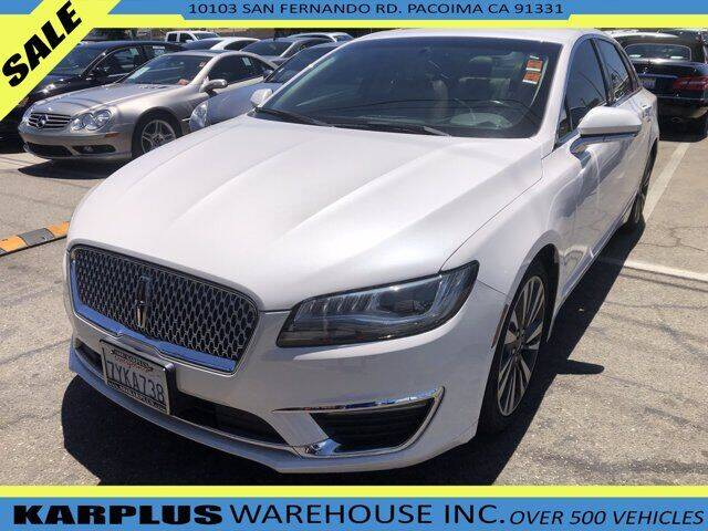 2017 Lincoln MKZ Hybrid for sale in Pacoima, CA
