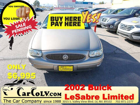2002 Buick LeSabre for sale at The Car Company in Las Vegas NV