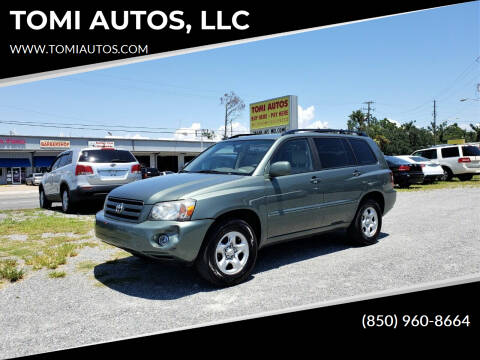 2005 Toyota Highlander for sale at TOMI AUTOS, LLC in Panama City FL