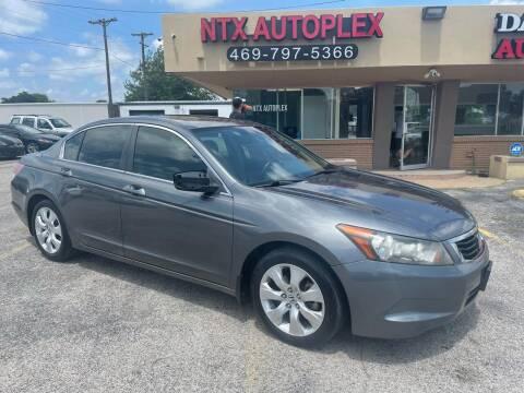 2008 Honda Accord for sale at NTX Autoplex in Garland TX