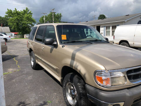 1999 Ford Explorer for sale at Mike Hunter Auto Sales in Terre Haute IN