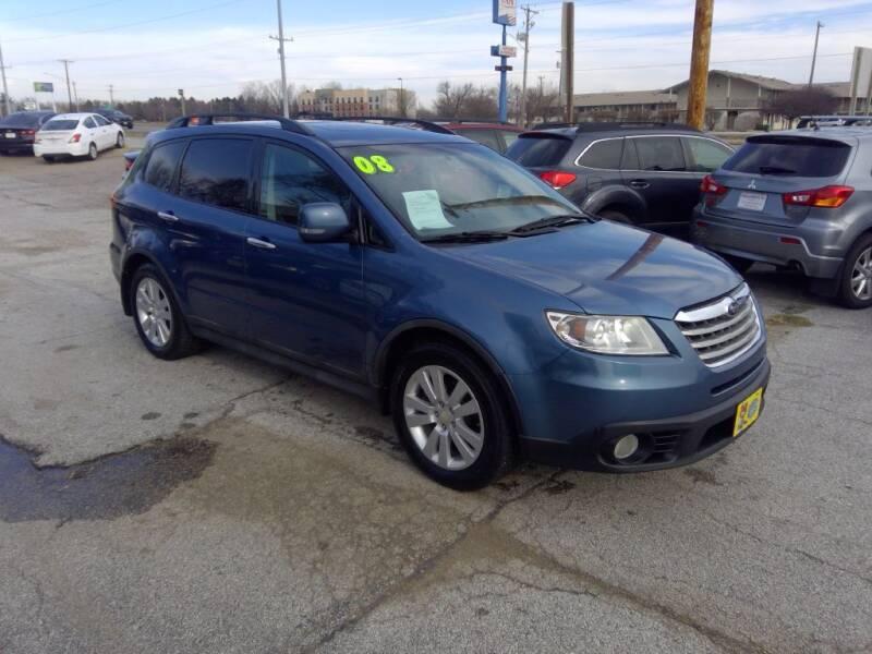 2008 Subaru Tribeca for sale at Regency Motors Inc in Davenport IA