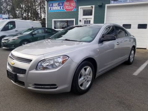 2008 Chevrolet Malibu for sale at Bridge Auto Group Corp in Salem MA