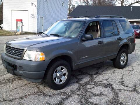 2004 Ford Explorer for sale at Wamsley's Auto Sales in Colonial Heights VA