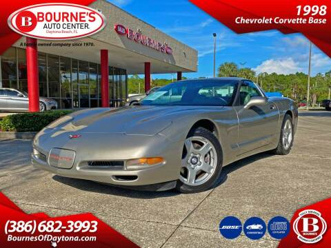 1998 Chevrolet Corvette for sale at Bourne's Auto Center in Daytona Beach FL