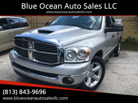 2008 Dodge Ram Pickup 1500 for sale at Blue Ocean Auto Sales LLC in Tampa FL