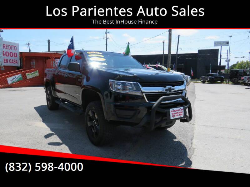 2016 Chevrolet Colorado for sale at Los Parientes Auto Sales in Houston TX