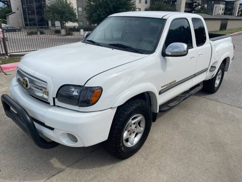 2004 Toyota Tundra for sale at Zoom ATX in Austin TX