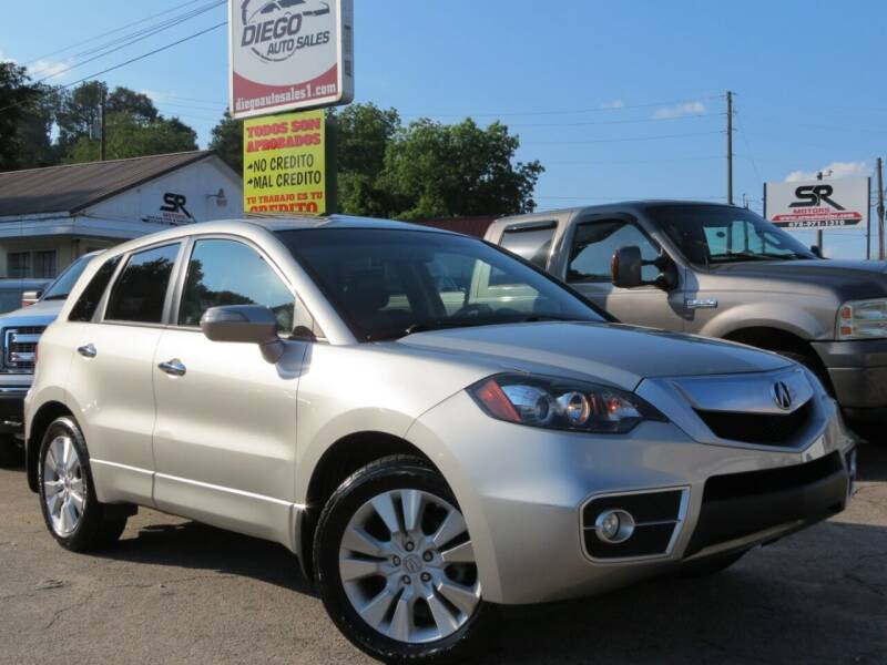 2010 Acura RDX for sale at Diego Auto Sales #1 in Gainesville GA