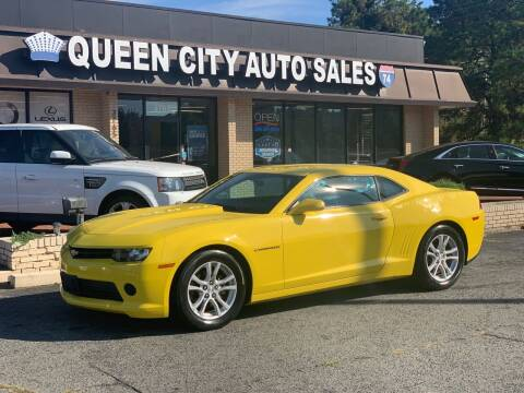 2015 Chevrolet Camaro for sale at Queen City Auto Sales in Charlotte NC