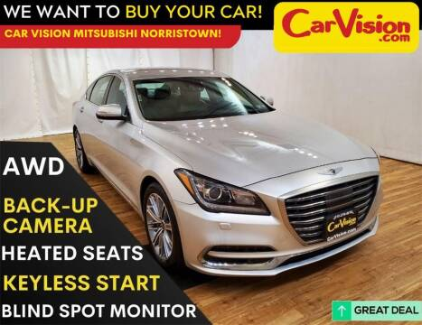 2018 Genesis G80 for sale at Car Vision Mitsubishi Norristown in Trooper PA