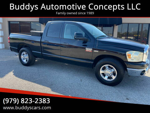 2009 Dodge Ram Pickup 2500 for sale at Buddys Automotive Concepts LLC in Bryan TX