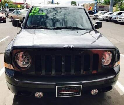 2015 Jeep Patriot for sale at ALBUQUERQUE AUTO OUTLET in Albuquerque NM