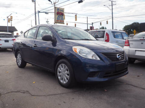 2012 Nissan Versa for sale at East Providence Auto Sales in East Providence RI