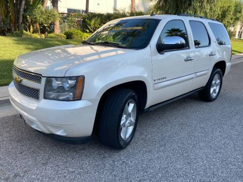 2008 Chevrolet Tahoe for sale at Donada  Group Inc in Arleta CA
