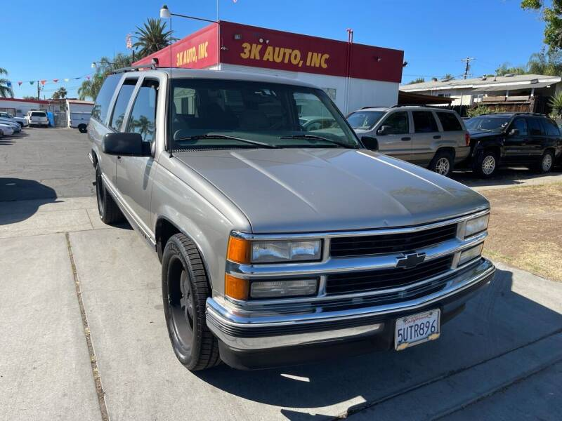1999 Chevrolet Suburban for sale at 3K Auto in Escondido CA