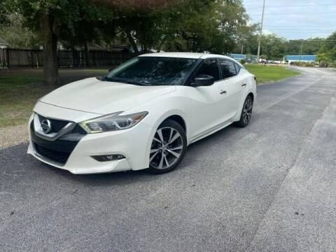 2016 Nissan Maxima for sale at Royal Auto Mart in Tampa FL