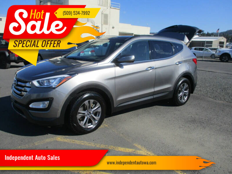 2015 Hyundai Santa Fe Sport for sale at Independent Auto Sales in Spokane Valley WA