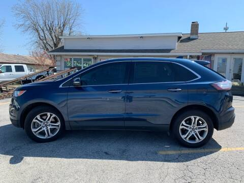 2017 Ford Edge for sale at Revolution Motors LLC in Wentzville MO