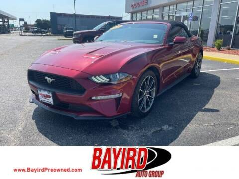 2019 Ford Mustang for sale at Bayird Truck Center in Paragould AR