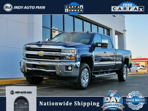 2018 Chevrolet Silverado 2500HD for sale at INDY AUTO MAN in Indianapolis IN