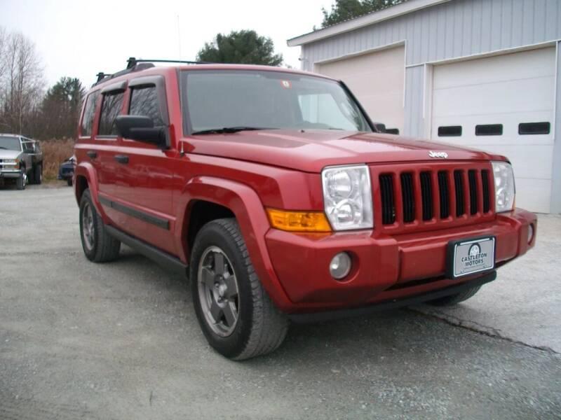 2006 Jeep Commander for sale at Castleton Motors LLC in Castleton VT