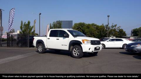 2010 Nissan Titan for sale at Westland Auto Sales in Fresno CA