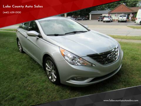 2013 Hyundai Sonata for sale at Lake County Auto Sales in Painesville OH