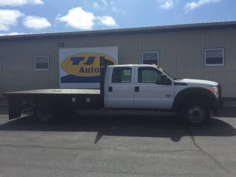 2015 Ford F-450 Super Duty for sale at TJ's Auto in Wisconsin Rapids WI