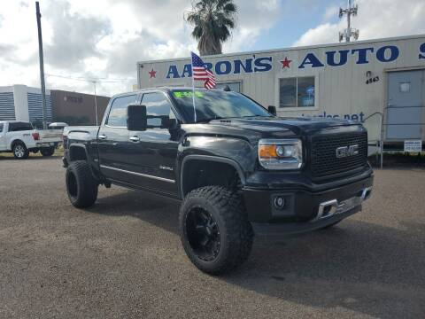 2015 GMC Sierra 1500 for sale at Aaron's Auto Sales in Corpus Christi TX