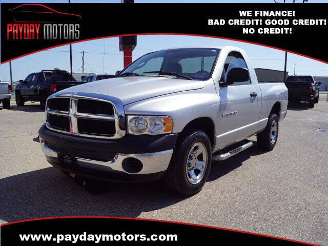 2005 Dodge Ram Pickup 1500 for sale at Payday Motors in Wichita KS