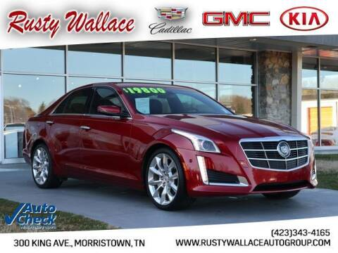 2014 Cadillac CTS for sale at RUSTY WALLACE CADILLAC GMC KIA in Morristown TN