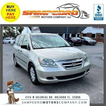 2006 Honda Odyssey for sale at SAMPEDRO MOTORS COMPANY INC in Orlando FL