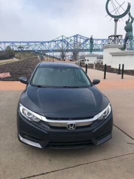 2017 Honda Civic for sale at Greenup Avenue Auto Sales LLC in Ashland KY