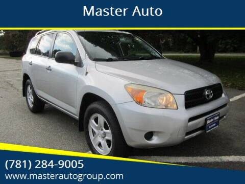 2007 Toyota RAV4 for sale at Master Auto in Revere MA