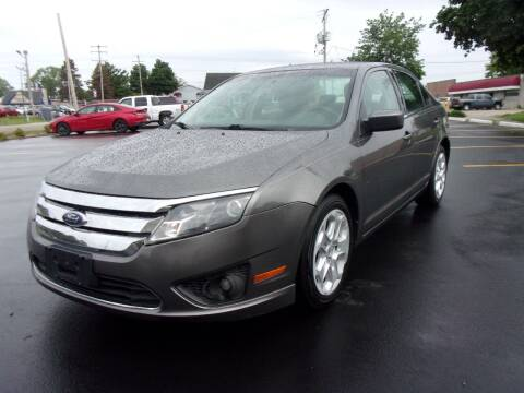 2010 Ford Fusion for sale at Ideal Auto Sales, Inc. in Waukesha WI