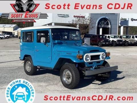 1977 Toyota Land Cruiser for sale at SCOTT EVANS CHRYSLER DODGE in Carrollton GA