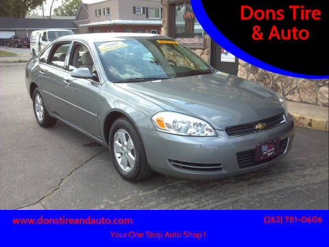 2008 Chevrolet Impala for sale at Dons Tire & Auto in Butler WI