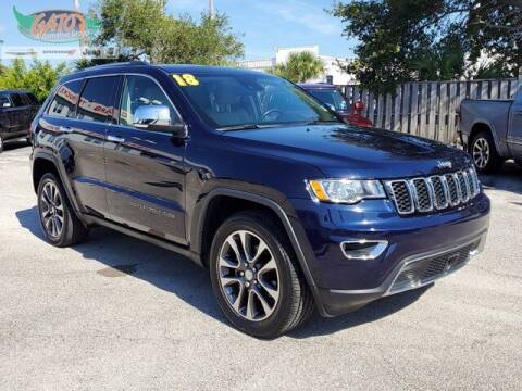 2018 Jeep Grand Cherokee for sale at GATOR'S IMPORT SUPERSTORE in Melbourne FL