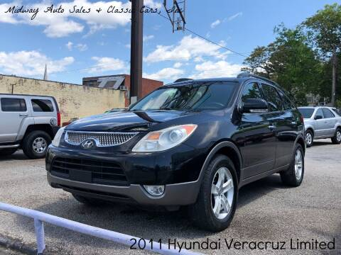 2011 Hyundai Veracruz for sale at MIDWAY AUTO SALES & CLASSIC CARS INC in Fort Smith AR