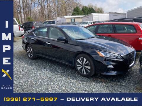 2019 Nissan Altima for sale at Impex Auto Sales in Greensboro NC