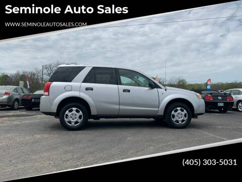 2007 Saturn Vue for sale at Seminole Auto Sales in Seminole OK