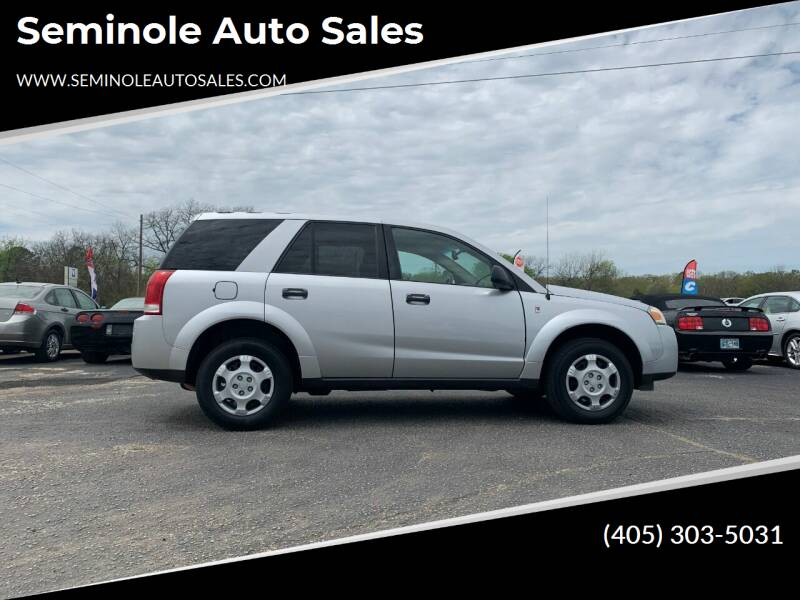 2007 Saturn Vue for sale at Seminole Auto Sales in Seminole OK